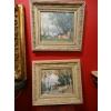 MADELEINE PLANTEY paire de tableaux